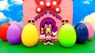 Minnie Mouse and Surprise Eggs ☺️ न्यूनतम माउस, आश्चर्य अंडे, स्टार वार्स
