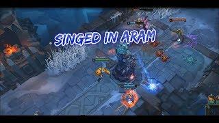 Singed In Aram   Season 9 Aram League Of Legends