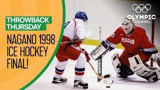 Czech Republic vs. Russia - Nagano 1998 - Men's Ice Hockey Final | Throwback Thursday