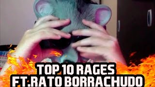TOP 10 RAGES ft.  RATO BORRACHUDO thumbnail