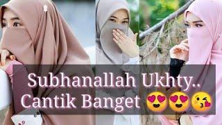 Kumpulan foto Ukhti bercadar😍😘 Cantik banget
