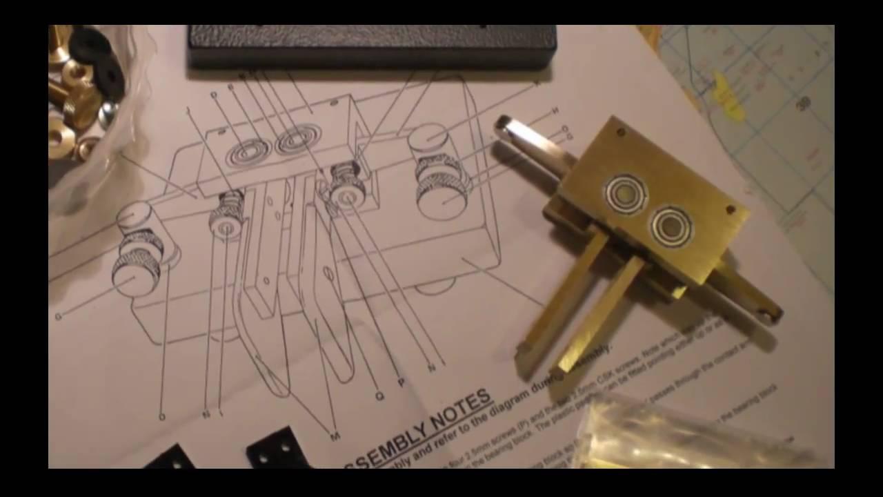 KENT Twin Paddle KIT Assembly by IK5XCT