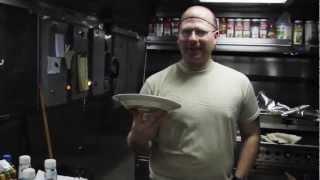 Army Cook at Sea