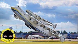 Choáng váng với 10 chiếc máy bay siêu khủng khiếp này