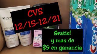 COMPRA EN CVS 12/15-12/21|GRATIS Y CON GANANCIA|Randee Saves