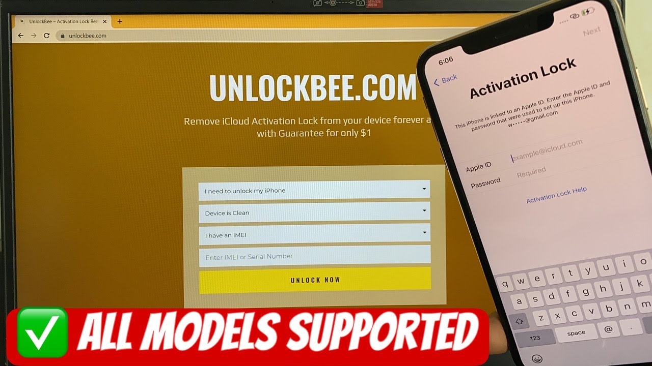 iCloud Unlock Activation Lock Service Instantly 3 Minutes