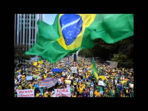 Brazil President Dilma Rousseff protested by hundreds of thousands