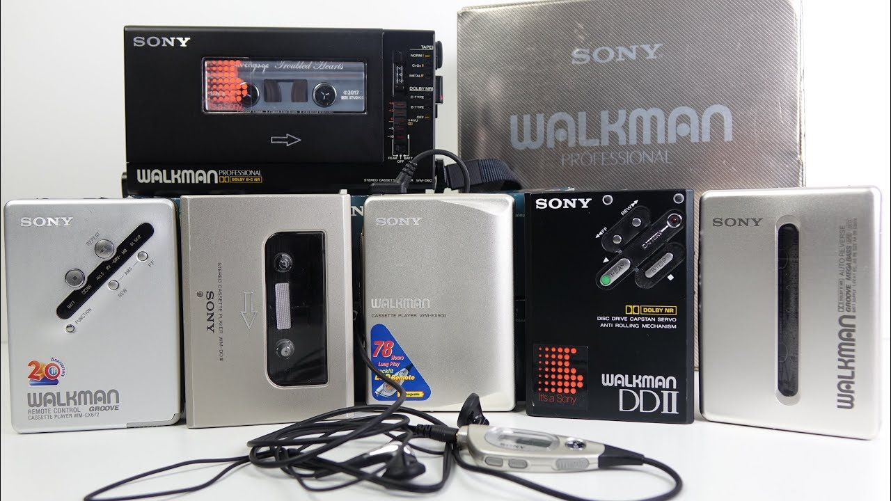 Which Sony Walkman? Retro Buyers Guide. - YouTube