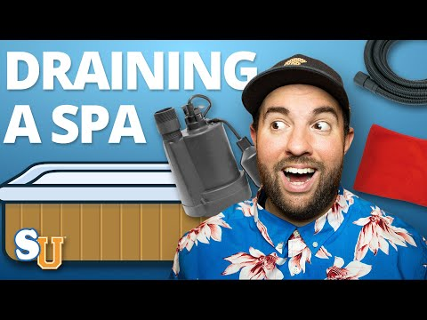 How To Drain And Refill A HOT TUB | Swim University