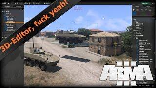 Ein erster Blick auf den neuen 3D-Editor von ArmA 3 (Eden-Editor)