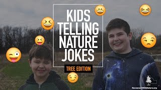 Kids Telling Nature Jokes: Tree Edition