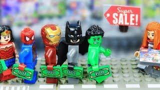 Lego Supehero shopping on Black Friday Final Episode