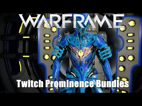 Warframe: Twitch Prominence Bundles I & II Available