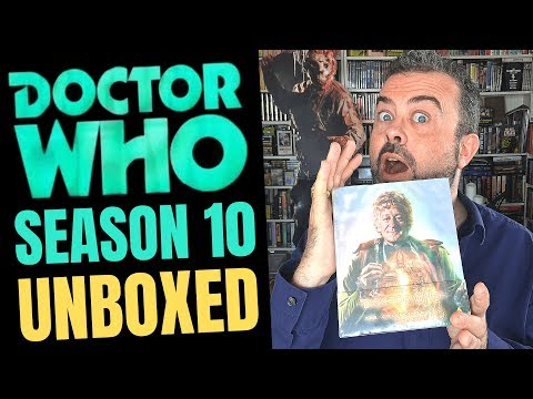 DOCTOR WHO SEASON 10 UNBOXING! See Inside This Classic Doctor Who Box Set