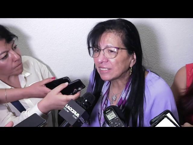Entrevista a la Presidenta de #CDHCM,  al finalizar la Disculpa Pública del caso Carlos Sinuhe