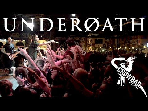 Underoath (Secret Show) [FULL SET] @ Crowbar 2016-3-13
