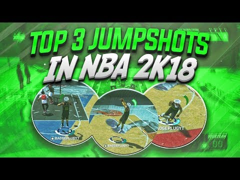 The top 3 best jumpshots in nba 2k18