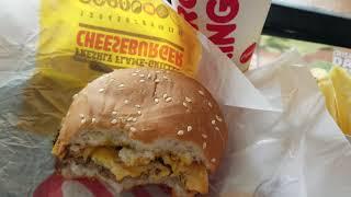Cheese Burger BurgerKing - (Promo Voucher Burger King Buka Lapak Rp 3.600) - 16 December 2018