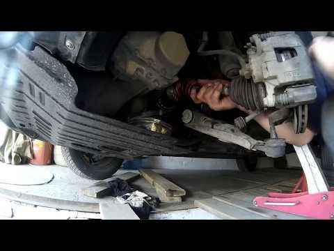 Как поменять сальник коробки передач Lanos