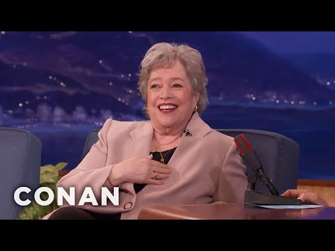 Kathy Bates On How Marijuana Has Helped Her & Others - CONAN on TBS
