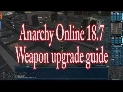 Anarchy online 18.7 how upgrade your start up weapon (1080p60 Gameplay / Walkthrough)