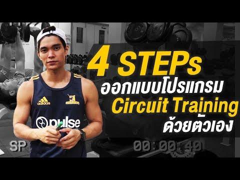 4 Steps สร้างกล้ามเนื้อง่ายๆ ด้วยโปรแกรม Circuit Training   EP.5   MICKEY A NP