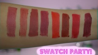 REVIEW & SWATCHES: KOSAS COSMETICS LIPSTICKS (ALL 8 SHADES) // The Green Bunny