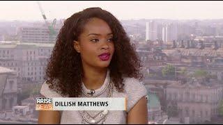 DILLISH MATTHEWS (BBA 2013 Winner) on Arise News (UK)