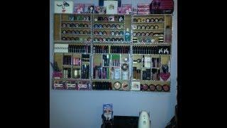 Makeup Storage Wall Unit