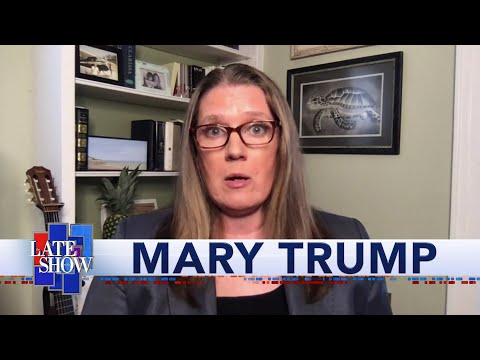 """Mary Trump On How Her Book Title """"Too Much And Never Enough"""" Describes Donald Trump's Upbringing"""