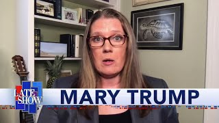 "Mary Trump On How Her Book Title ""Too Much And Never Enough"" Describes Donald Trump's Upbringing"