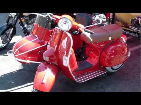Stella Scooter With Sidecar