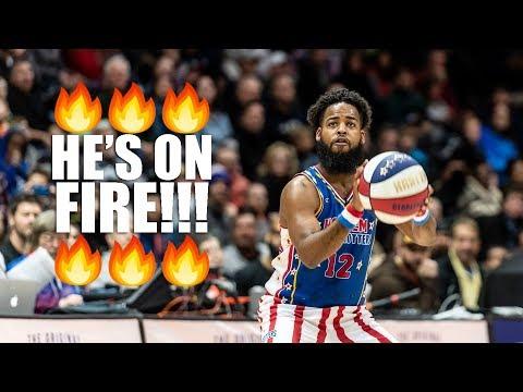 Harlem Globetrotter Scores 93 Points!!!