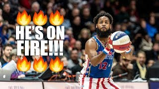 Harlem Globetrotter Scores 93 Points!!!
