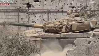 18 Сирия  Фланговый удар с участием 'Шилки' ч1   Flank attack involving 'Shilka'