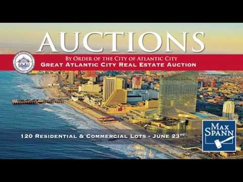 Great Atlantic City Real Estate Auction - 120 Properties Throughout the City