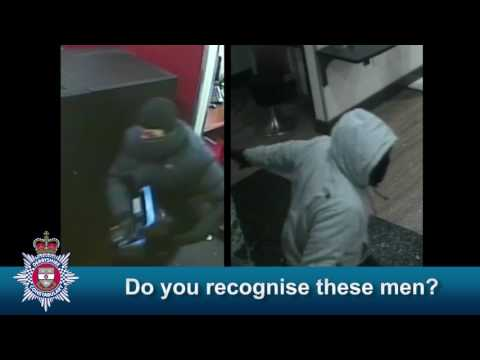 HSBC bank robbery - do you recognise these men or their clothing?