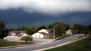 Fort Wayne Indiana 8/4/2012 Thunderstorm Approaching