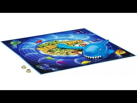 Обзор настольной игры Акулья Охота от Hasbro