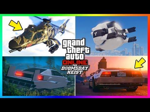 GTA Online The Doomsday Heist NEW Details - Active Camo Vehicles, Stromburg Info, NEW Drones & MORE!