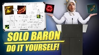 HOW TO SOLO BARON AT 20 MINUTES WITH MASTER YI - Cowsep