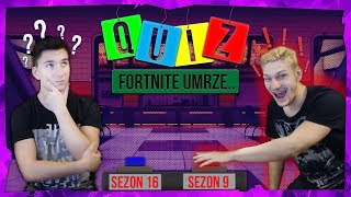 A GREAT QUIZ ABOUT FORTNITE 🤔
