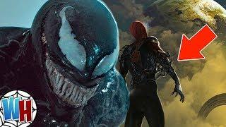 Venom San Diego Comic Con Teaser Image and MCU Spider-Man Theory!