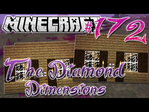 Minecraft | HOUSE CLONING | Diamond Dimensions Modded Survival #172