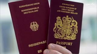 Brexit: UK passports issued without 'European Union' label     UK news today