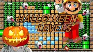 SADISTIC TRICK-OR-TREATING! | Halloween Levels [#1] - Super Mario Maker