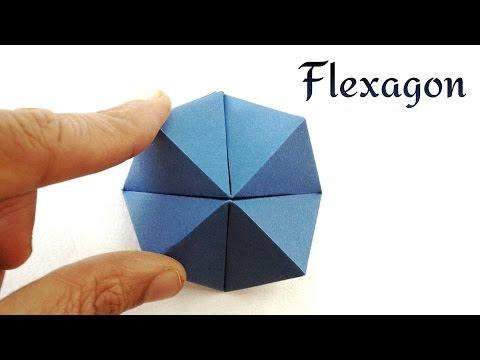Cutie Catcher   Flexahedron - DIY Origami Tutorial by Paper Folds ❤️