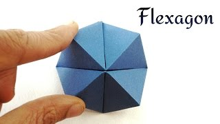 Cutie Catcher | Flexahedron - DIY Origami Tutorial by Paper Folds ❤️