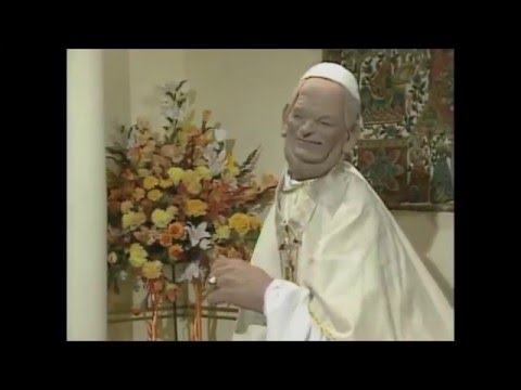 The Pope & Jesus - Spitting Image