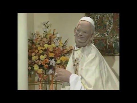 The Pope & Jesus - Spitting Image